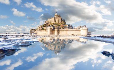 Mont Saint-Michel, architecture