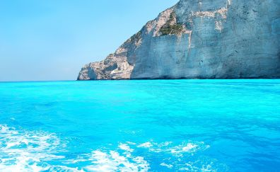 Ionian blue sea, nature