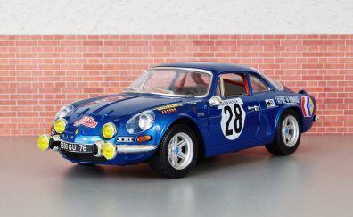 Renault alpine car model, toy
