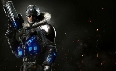 Injustice 2, captain cold, villain, dark, game