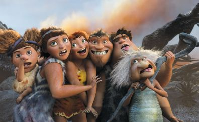 The Croods 2, Animation movie, 2017, family