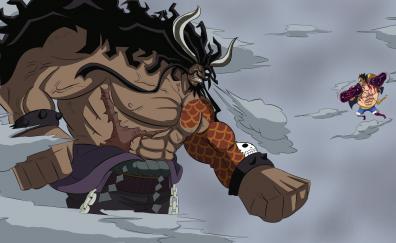 Kaidou, one piece, anime