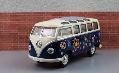 Old bulli vehicle toy