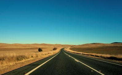 Cooma highway, landscape