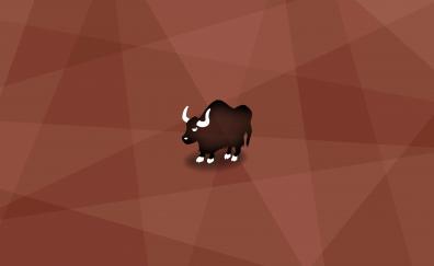 Bullock minimal artwork