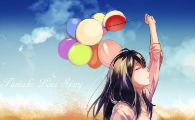 Tamako Kitashirakawa, Tamako Market, anime, anime girl