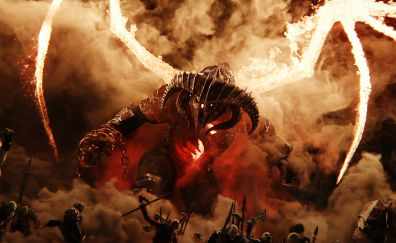 Middle-earth: Shadow of War, monster, video game