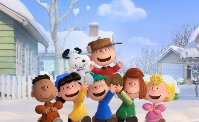 The peanuts movie, 2015 cartoon film, movie