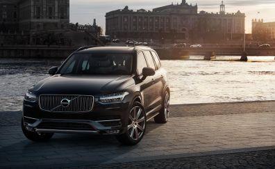 Volvo xc90 crossover suv hybrid luxury cars