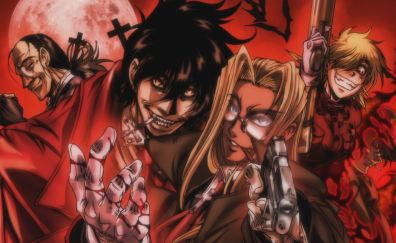 Hellsing characters, anime