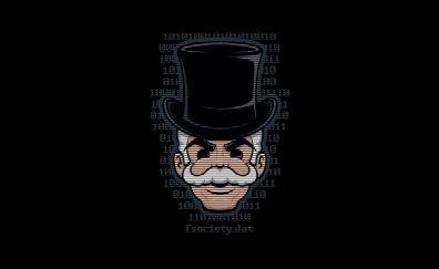 Mr robot mask F society artwork