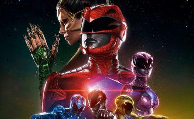 2017, Power Rangers movie
