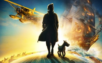 The Adventures of Tintin, 2011 movie, poster