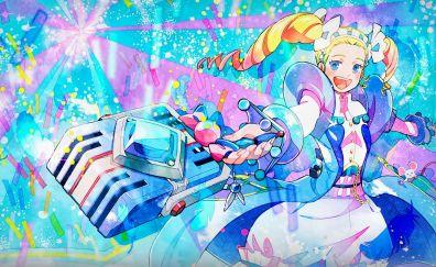 Classicaloid, happy anime girl
