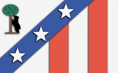 Soccer team, logo, material design