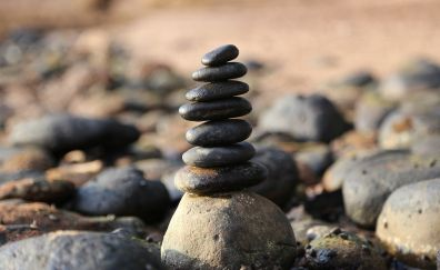 Stones tower, balance