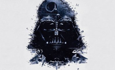 Star wars, mask, solider, Darth Vader
