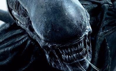 Alien: Covenant, movie, alien, creature
