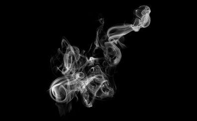 Dark, smoke, minimal