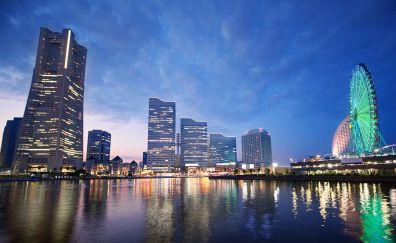 Yokohama city of japan
