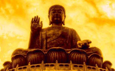 Tian tan buddha, Statue
