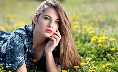 Lovely girl model