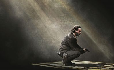 Andrew Lincoln in The walking dead tv series