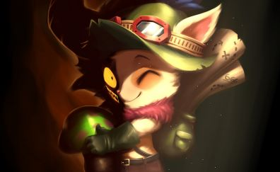 Teemo, League of legends, game, online game