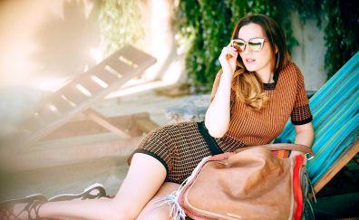 Leighton Meester, photoshoot, celebrity, sunglasses