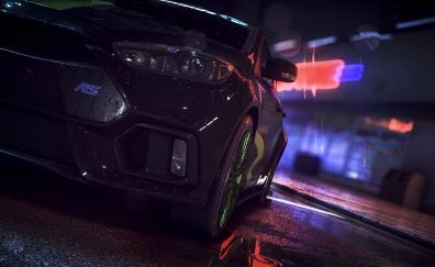 Headlight, Ford Focus RS, Need For Speed, video game