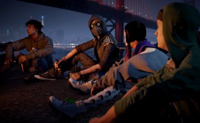 Golden Gate, Watch Dogs 2, gang, video game