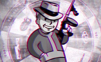 Fallout: New Vegas, vault boy, video game