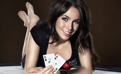 Poker Girl model