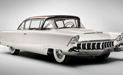 White old car