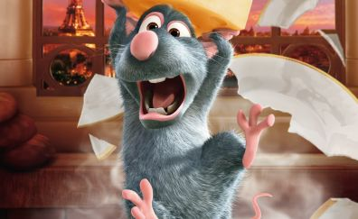 Remy, Ratatouille animation movie