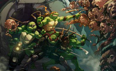 Teenage mutant ninja turtles artwork