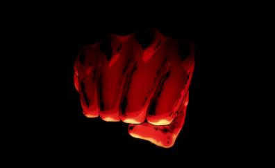 Saitama, One-punch man, anime