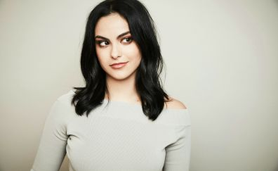 Camila Mendes, looking away, celebrity