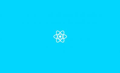 ReactJS logo minimal artwork