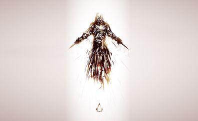 Assassin's Creed, gaming, minimal, art
