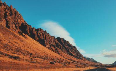 Desert hills road marking