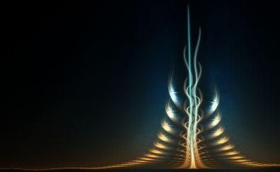 Fractal pattern, artwork