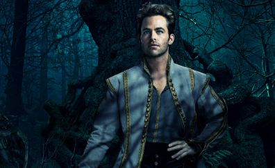 Into the woods, 2014 movie, Chris Pine, actor