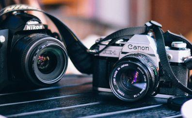 Canon & nikon camera
