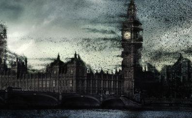 Movie, The day the earth stood still, London City