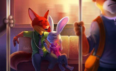 Zootopia animation movie, Disney artwork