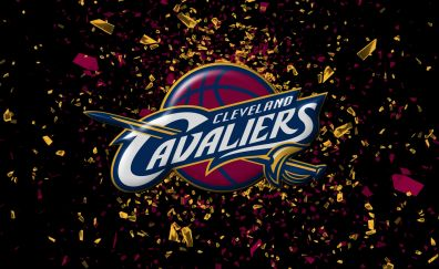 Beautiful cleveland cavaliers basketball team logo