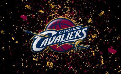 Beautiful cleveland cavaliers basketball team logo