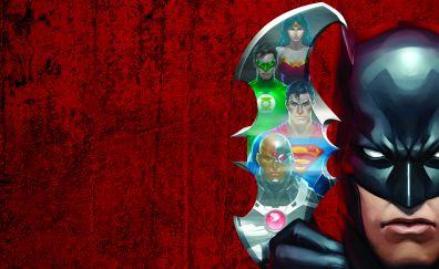 Justice League: Doom, 2012 animated movie, superhero