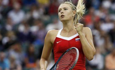 Tennis player, Maria Sharapova portrait